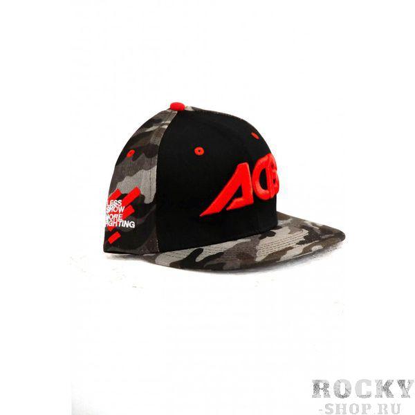 Снепбек ACB ACBБейсболки / Кепки<br>Эта легкая и удобная кепка обеспечивает воздухопроницаемость и комфортные условия ношения. Оригинальная вышивка, регулируемый размер и неповторимый дизайн делает ее уникальной. <br>Снепбек камуфляж, черный с надписью ACB<br>