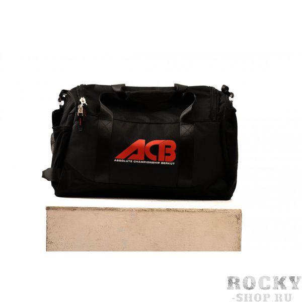 Спортивная сумка ACB ACBСпортивные сумки и рюкзаки<br>Спортивная сумка ACB совмещает в себе удобство и практичность. Особенно, она подойдёт тем, кто занимается единоборствами, так как вместит в себя полный комплект необходимой одежды и экипировки. <br>Состав: 100% Полиэстер<br>Страна производства: КНР<br>