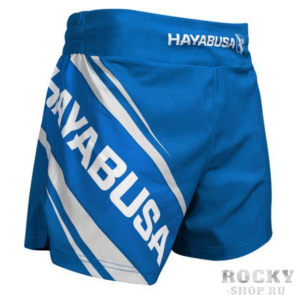 Шорты Hayabusa Kickboxing 2.0 HayabusaШорты для тайского бокса/кикбоксинга<br>Шорты Hayabusa Kickboxing 2. 0. Очень лёгкие, но при этом очень прочные шорты. Материал, из которого сделаны шорты Hayabusa, хорошо тянется. Так же присутствуют боковые разрезы на бёдрах. За счет этих факторов шорты становятся очень удобными в работе и не создают ни малейшего намёка на дискомфорт. Так же необходимо отметить, что данные шорты короче своих ММА-аналогов. Шорты Hayabusa Kickboxing достаточно быстро сохнут после стирки. Этот фактор позволит использовать их максимально часто. Все рисунки сублимированы в ткань. Подходят для занятий самыми различными единоборствами, кроссфитом, фитнесом, железным спортом и т. д. . Уход: машинная стирка в холодной воде, деликатный отжим, не отбеливать.<br><br>Размер INT: L