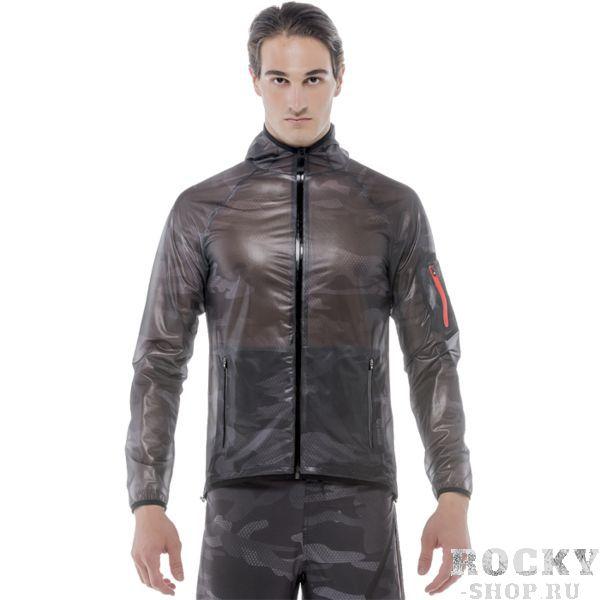 Ветровка Grips Grips AthleticsКуртки / ветровки<br>Тренировочная ветровка Grips Athletics. Стильная, удобная ветронепродуваемая беговая куртка с капюшоном. Ветровка выполнена из очень тонкого и лёгкого материала. Застёгивается куртка на молнию. На куртке присутствуют боковые карманы и один карман на рукаве. Состав: 100% полиэстер.<br><br>Размер INT: M