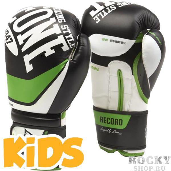 Купить Детские боксерские перчатки Leone Record 6 oz (арт. 22244)