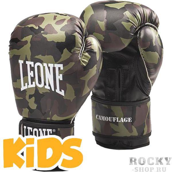Купить Детские боксерские перчатки Leone Camouflage 6 oz (арт. 22245)