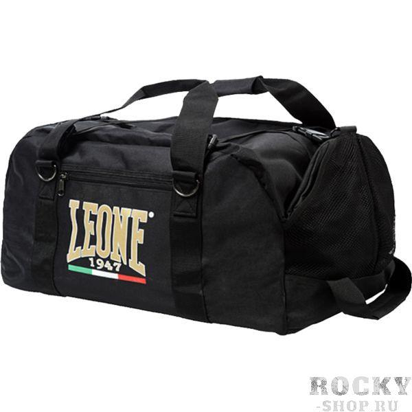 Спортивная сумка Leone LeoneСпортивные сумки и рюкзаки<br>Спортивная сумка-рюкзак Leone. Благодаря различной системе ремней сумку можно носить и как сумку в пуках, и как рюкзак на плече. Габариты: 25*30*90см. Объём: 70 литров.<br>