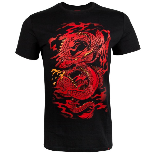 Футболка Venum Dragons Flight Black/Red VenumФутболки<br><br><br>Размер INT: L