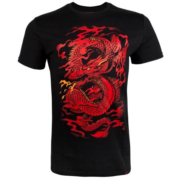 Футболка Venum Dragons Flight Black/Red (арт. 22309)  - купить со скидкой