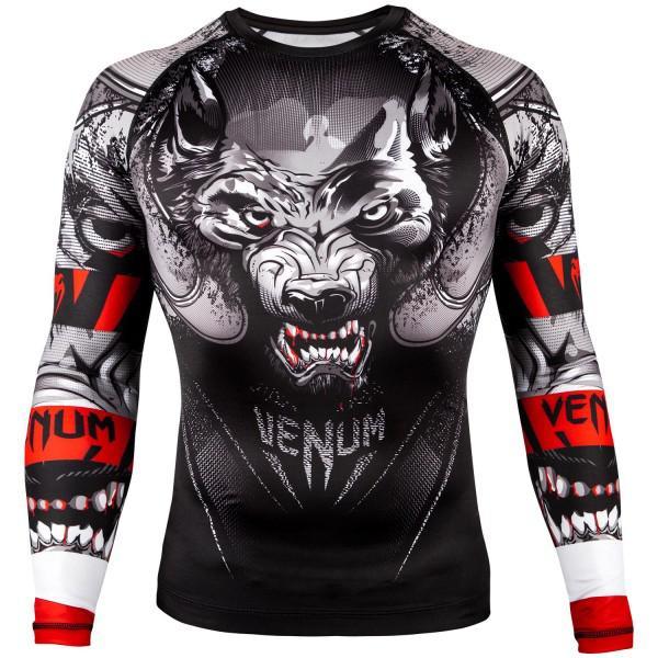 Купить Рашгард Venum Werewolf Black/Grey L/S (арт. 22321)