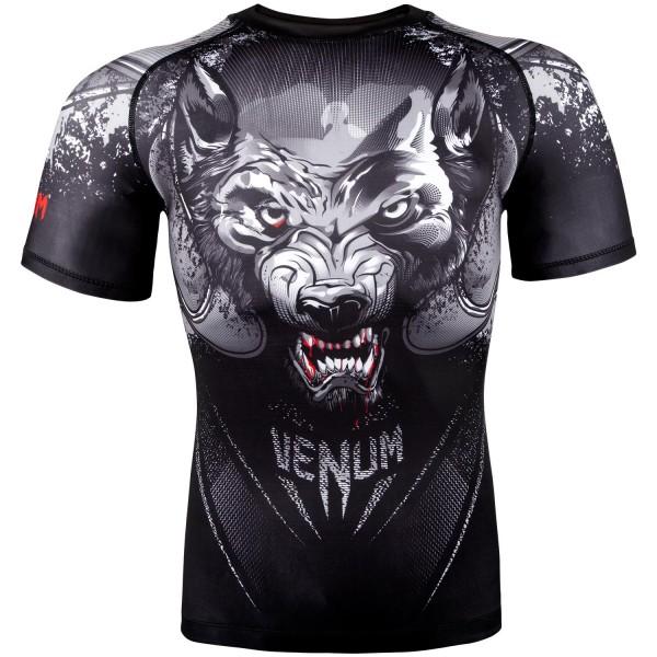 Купить Рашгард Venum Werewolf Black/Grey S/S (арт. 22322)