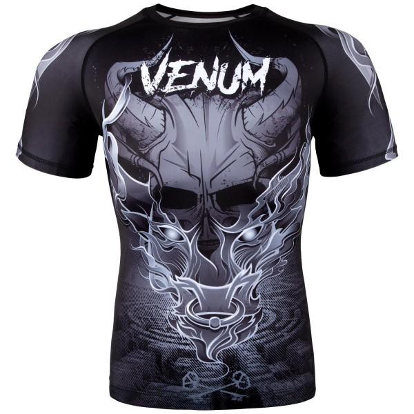 Рашгард Venum Minotaurus Black/White S/S VenumРашгарды<br><br><br>Размер INT: S