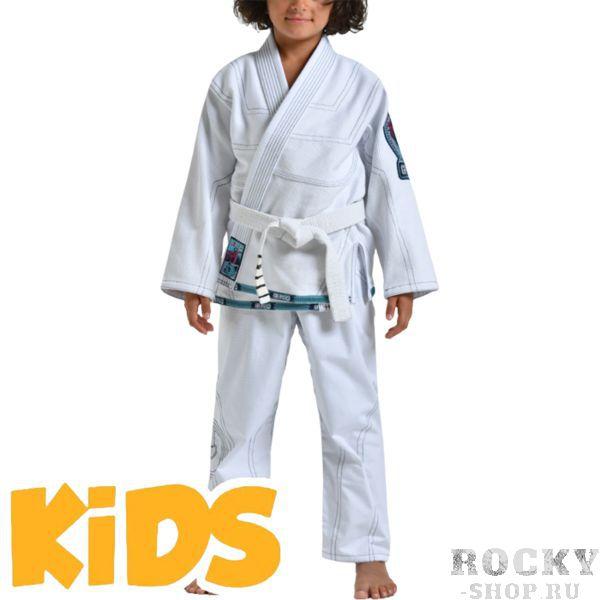 Детское кимоно для БЖЖ Grips Triple Grips AthleticsЭкипировка для Джиу-джитсу<br>Детское кимоно для BJJ (бразильское джиу-джитсу) Grips Athletics Triple. Ги выполнено с учётом всех рекомендаций IBJJF. Gr1ps Athletics всегда старается снабдить свою продукцию фирменными элементами: шнурки, отстрочка, вышивка и дополнительные вставки. Все эти составляющие качественно отличают творения итальянского производителя Grips Athletics от других изготовителей. За счёт наилучшего качества хлопка это кимоно является оптимальным выбором для любителей бразильского джиу-джитсу. - Тип плетения: Pearl Weave. - В области колен штаны дополнительно укреплены. - Воротник, наполнен пеной EVA для более быстрого высыхания и комфорта. - Высочайшее качество вышивки. Подойдет и для ежедневных тренировок и для соревнований. Ги сделано из цельного куска ткани (без швов на спине)! Штаны на шнурке; на поясе - дополнительные петли для того, чтобы шнурок держал штаны прочно; При стирке в горячей воде возможна усадка порядка 5%. стирать ги рекомендуется в мягкой воде до 30 градусов без отбеливателя. Состав: 100% хлопок высокого качества. Пояс в комплект не входит.<br><br>Размер: K0