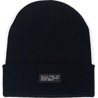 Шапка Manto Label Black MantoШапки<br>Зимняя шапка Manto Label Black. Состав: 100% акрил.<br>
