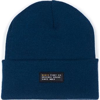 Шапка Manto Label Navy MantoШапки<br>Зимняя шапка Manto Label Navy. Состав: 100% акрил.<br>