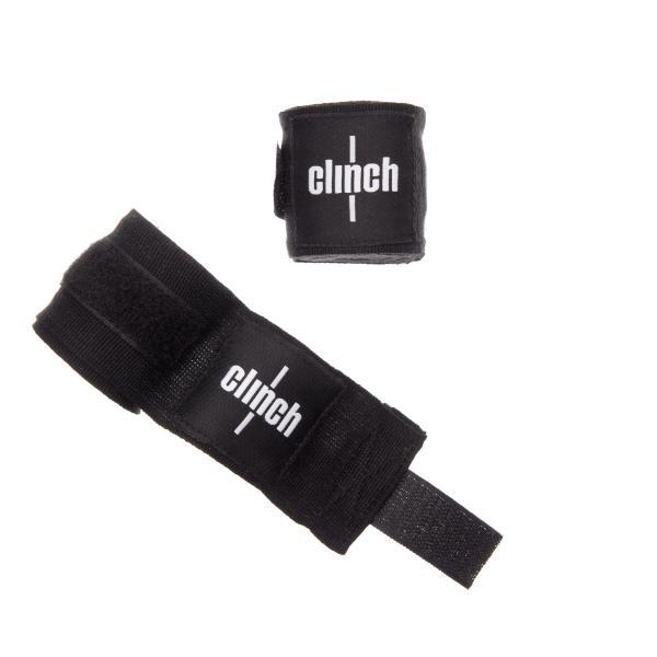 Бинты эластичные Clinch Boxing Crepe Bandage Punch черные Adidas