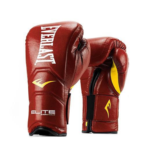 Перчатки тренировочные Everlast Elite Pro на липучке, 14 oz EverlastБоксерские перчатки<br>Тренировочные перчатки Elite Pro выполнены в революционном дизайне, который воплотил в себе анатомически правильную внутреннюю форму, способствующую естественному диапазону движения и оптимальному расположению кулаков. Разработан с использованием технологии Evershield для стабилизации и защиты рук и запястья во время интенсивного спарринга, работы с мешком и лапами. Форма цельной конструкции была спроектирована так, чтобы действовать как естественное продолжение вашей руки. Изготовлены с сочетанием многослойной пены и невероятно прочными передовыми композитными микроволокнами для долговечности.<br><br>Цвет: Синие