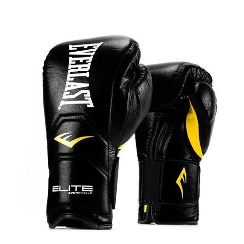 Перчатки тренировочные Everlast Elite Pro на липучке, 18 oz Everlast