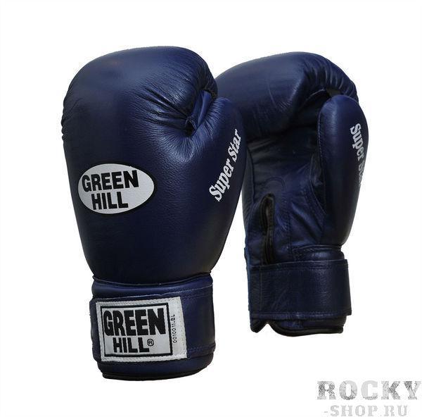 Перчатки боксерские SUPER STAR, 10 унций Green HillБоксерские перчатки<br>&amp;lt;p&amp;gt;Преимущества:&amp;lt;/p&amp;gt;    &amp;lt;li&amp;gt;Натуральная кожа&amp;lt;/li&amp;gt;<br>    &amp;lt;li&amp;gt;Ладонь из замши&amp;lt;/li&amp;gt;<br>    &amp;lt;li&amp;gt;Манжет на липучке&amp;lt;/li&amp;gt;<br>    &amp;lt;li&amp;gt;Отлично годятся для соревнований&amp;lt;/li&amp;gt;<br>