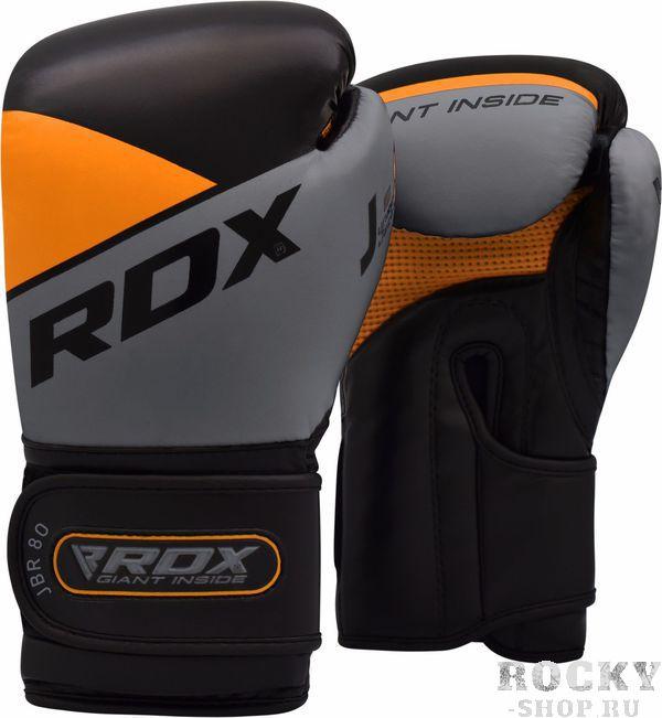 Купить Детские боксерские перчатки RDX Junior Black/Orange 6 oz (арт. 22814)