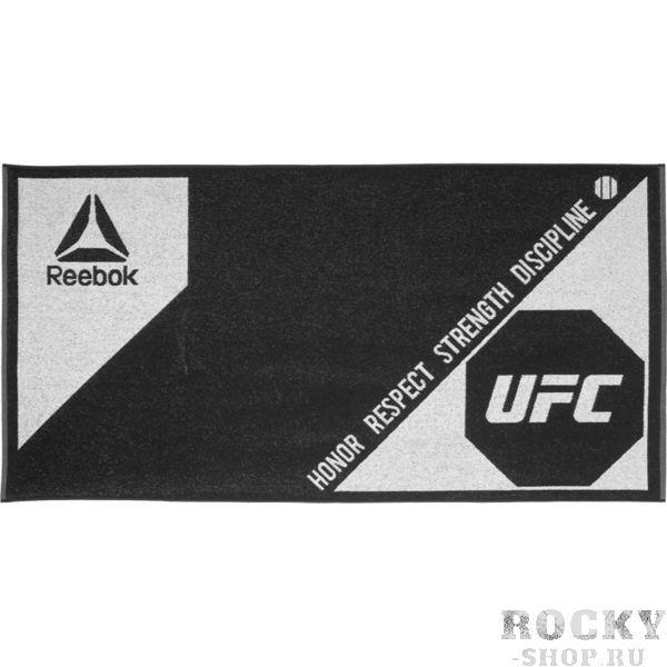 Полотенце Reebok UFC ReebokПолотенца<br>Полотенце Reebok UFC. Большое логотип UFC. качественный хлопок. Неотъемлемая вещь для вашей тренировочной сумки. Материал: хлопок. Внимание: первым использованием необходимо простирать!<br>