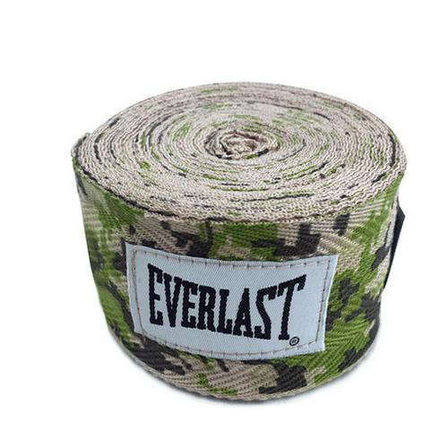 Боксерские бинты Everlast Camo, 3.5 метра Everlast фото