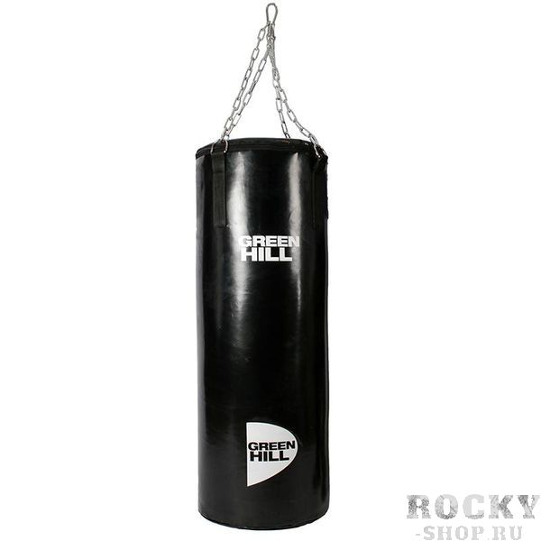 Купить Мешок боксерский Green Hill, 100*30 см, 25 кг Hill на цепи (арт. 22984)