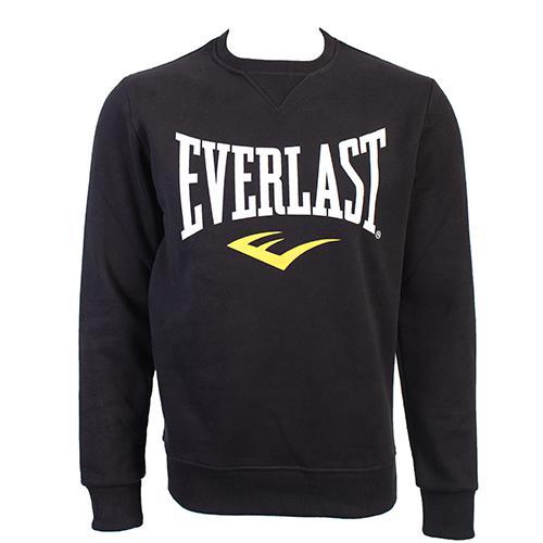 Свитшот Everlast Classic EverlastТолстовки / Олимпийки<br>Стильная кофта Classic известного спортивного бренда Everlast. Теплая и комфортная, её можно носить повседневно, тренироваться в зале и на улице в прохладную погоду. Выполнена из сочетания хлопка и полиэстера. Идеальный вариант, как для тренировок, так и для повседневной носки. Стильный классический дизайн. С внутренней стороны ткань с флисом.<br><br>Размер INT: M