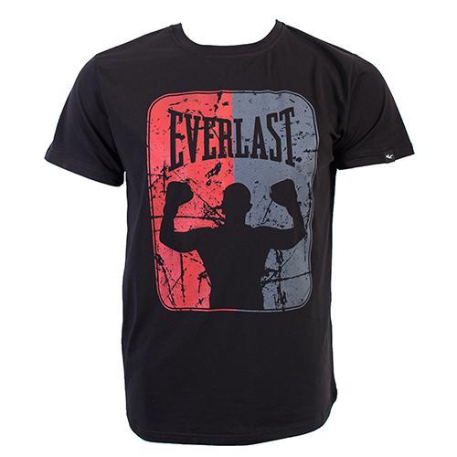 Футболка Everlast Boxer EverlastФутболки<br>Футболка Everlast Boxer. Мужская классическая футболка с большим логотипом печати Everlast на груди. Удобная посадка, мягкий натуральный материал (92% хлопок, 8% полиэстер). Машинная стирка.<br><br>Размер INT: XXL