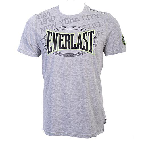 Футболка Everlast Premium Sports Grey EverlastФутболки<br>Удобная и элегантная футболка для повседневной носки и тренировочного процесса. На груди логотип Everlast. Состав: 100% Хлопок.<br><br>Размер INT: L