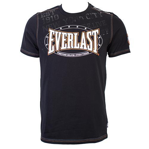 Футболка Everlast Premium Sports Black EverlastФутболки<br>Удобная и элегантная футболка для повседневной носки и тренировочного процесса. На груди логотип Everlast. Состав: 100% Хлопок.<br><br>Размер INT: M
