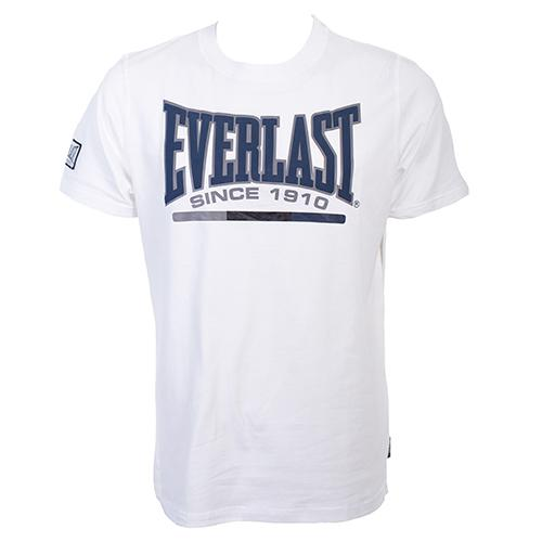 Футболка Everlast Sports White EverlastФутболки<br>Футболка Everlast Sports выполнена из хлопка. Модель прямого кроя. Детали: круглый вырез горловины, короткие рукава, контрастный логотип бренда. Состав: 100% Хлопок.<br><br>Размер INT: XL