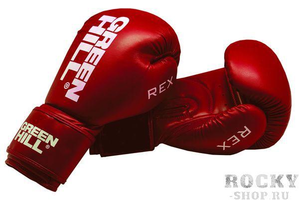 Боксерские перчатки Green Hill rex, 12 OZ Green HillБоксерские перчатки<br>Боксерские перчатки REX для классического бокса и кикбоксинга разработаны совместно с Федерацией Бокса России. Перчатки имеют современную конструкцию, учитывающую весь накопленный за годы существования опыт бокса. Большой палец перчатки прикрыт выступом, обеспечивая защиту пальца от компрессии при сильном ударе или неточном попадании. Манжет перчаток выполнен так, чтобы в клинче была исключена возможно рассечения выступающими швами перчатки. Материал перчаток - 100% PU. Наполнитель - предварительно сформированный по технологии Pre-Shape пенополиуретан. - Тренировочные перчатки для бокса и кикбоксинга- Защита большого пальца- Безопасный манжет- Перчатка разработана своместно с Федерацией Бокса России<br><br>Цвет: Синие