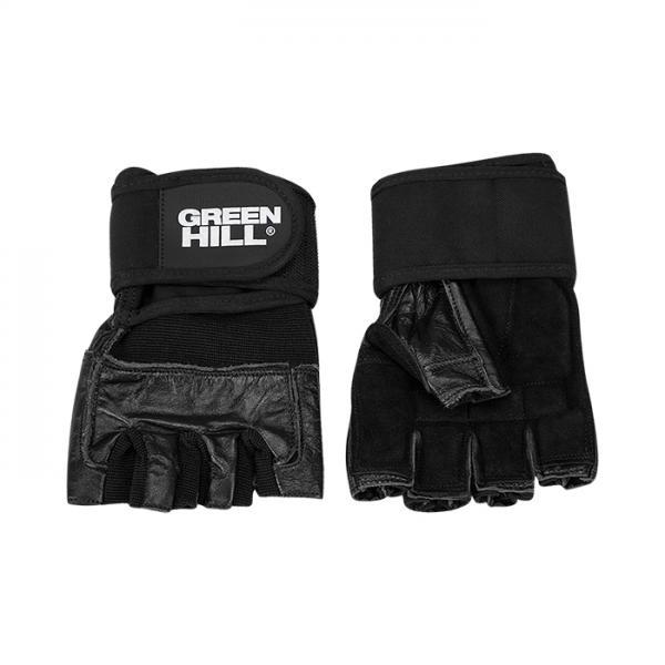 Перчатки для фитнеса Green Hill WLG-6468 Green HillПерчатки для фитнеса<br>Идеальное сочетание кожи, замши и нейлона для защиты Ваших рук.<br><br>Размер: L