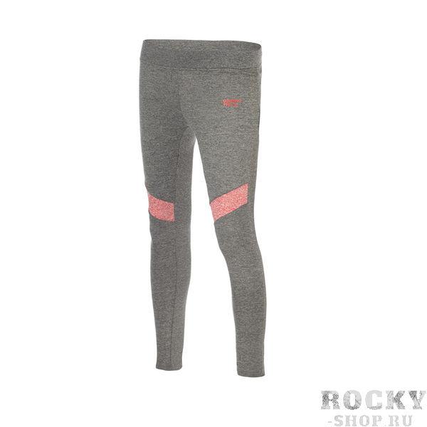 Леггинсы женские Green Hill Grey/Pink Green HillКомпрессионные штаны / шорты<br>Женские леггинсы для занятий фитнесом. Сделаны из синтетики с добавлением хлопка, легкие, эластичные и приятные на ощупь.<br><br>Размер INT: XS