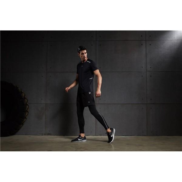 Футболка спортивная Vansydical MBF77901 VansydicalФутболки<br>Спортивная футболка отводит влагу, гарантирует комфорт, а также обеспечивает полную свободу движений во время тренировки. Страна производитель - Китай.<br><br>Размер INT: L