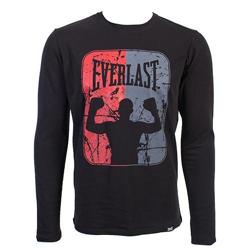 Лонгслив Everlast Boxer EverlastФутболки<br>Футболка EVERLAST Boxer. Мужская классическая футболка с ярким логотипом на груди. Удобная посадка, мягкий приятный материалСостав:95% хлопок, 5% лайкра.<br><br>Размер INT: M