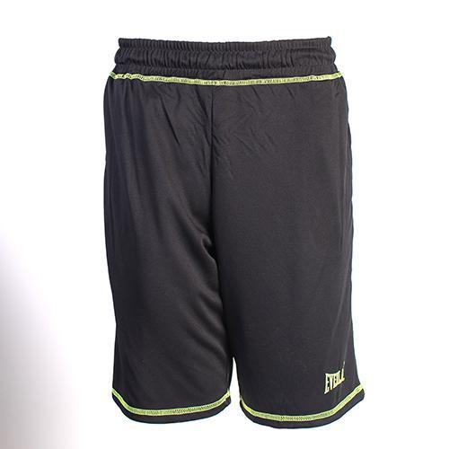 Шорты Everlast Sports Brights Black EverlastСпортивные штаны и шорты<br>Шорты Everlast Sports Brights выполнены из гладкого трикотажа с контрастной отстрочкой. Модель прямого кроя. Отличный вариант для тренировочного процесса и повседневного ношения. Эластичный пояс со шнурком, два боковых кармана. Состав: Полиэстер - 100%.<br><br>Размер INT: L
