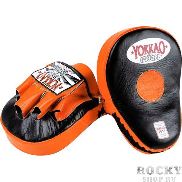 Тренерские лапы Yokkao YokkaoЛапы и макивары<br>Профессиональные лапы Yokkao. Продукция высочайшего! Внешняя обивка лап Yokkao - натуральная кожа самого высокого уровня! Отлично сидят на руках. Внутренний наполнитель - пена, поглощающая энергию удара. Продаются парой.<br>