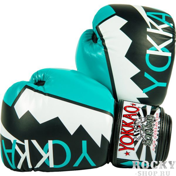 Купить Боксерские перчатки Yokkao Frost Blue 10 oz (арт. 23323)
