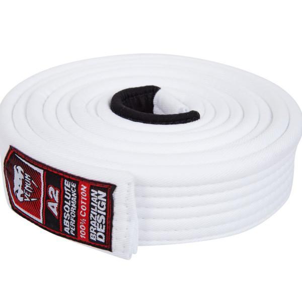 Купить Пояс для бжж Venum Belt White (арт. 23584)