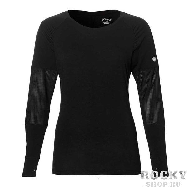 Женская беговая рубашка ASICS 146406 0904 LS TOP AsicsРашгарды<br>•Стильная женская беговая рубашка ASICS LS TOP подойдет как для занятия спортом, так и для повседневной носки. •Бесшовная дышащая ткань с технологией MotionTherm Technology генерирует тепло и сохраняет его при тренировках в холодную погоду. •Вставки на рукавах из сетчатого материала выгодно подчеркнут ваши стиль и обеспечат дополнительную вентиляцию. •Оригинальный крой рукава реглан является не только элементом декора, но и лучше защищает от ветра.<br><br>Размер INT: S