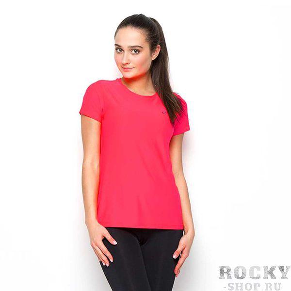 Женская беговая футболка ASICS 134104 0640 SS TOP Asics (арт. 23697)  - купить со скидкой