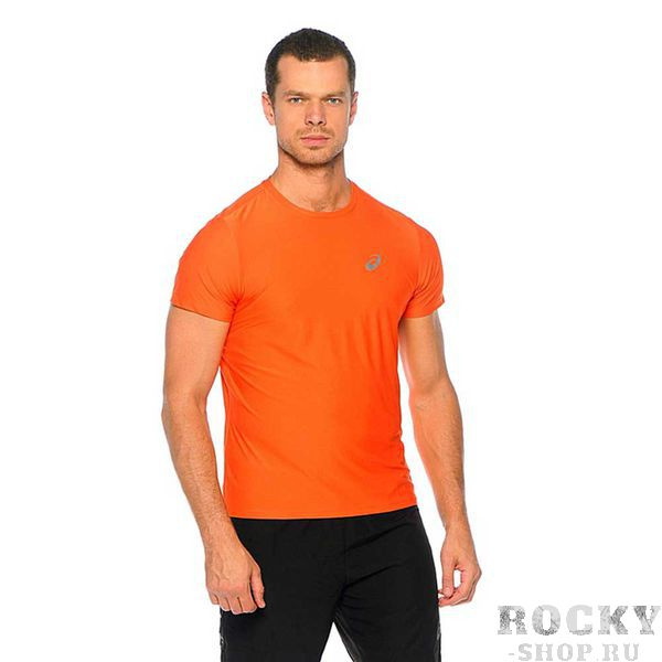 Беговая футболка ASICS 134084 0516 SS TOP AsicsФутболки<br>Беговая футболка ASICS 134084 0516 SS TOP•Стильная мужская спортивная футболка от ASICS идеально подойдет как для занятий бегом, фитнесом, так и для повседневной носки. •Высокотехнологичная синтетическая ткань, в состав которой входят волокна полиэстера, обладает хорошими эксплуатационными характеристиками. •Технология управления влажностью обеспечивает эффективный отвод влаги с поверхности кожи. •Футболка хорошо тянется и не деформируется после многочисленных стирок. •Округлая горловина футболки подшита мягкой каймой. •Спина декорирована вставкой зеленого цвета, которая обеспечивает дополнительную вентиляцию.<br><br>Размер INT: 2XL