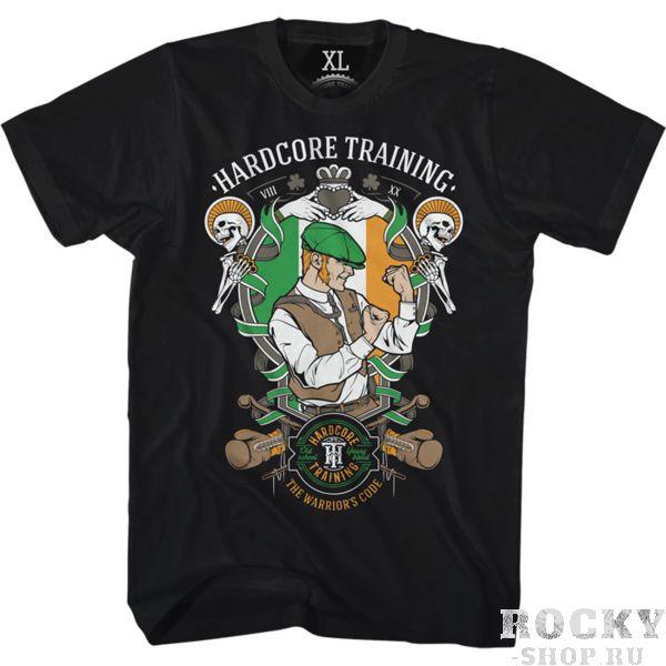 Футболка Hardcore Training Scrapper Hardcore TrainingФутболки<br>Футболка Hardcore Training Scrapper. Ладная-нарядная ирландская футболочка от НСТ. Бла-бла-бла. . . Тут должен быть текст про дух, бойцовский характер и прочие мотивашки, которые ты знаешь прекрасно, дорогой друг, и сам (НСТ считает своих покупателей умницами). А мы , чтобы не повторяться, можем сказать лишь одно- постарайтесь, чтоб в жизни от вас было больше толка, чем от одноногого на конкурсе пинков. Отличный крой, контрастный шов, лихой и бойкий принт от НСТ. Уход: машинная стирка в холодной воде, деликатный отжим, не отбеливать. Состав: 92% хлопок, 8% лайкра. Футболка изготовлена в Европе (EU).<br><br>Размер INT: XL