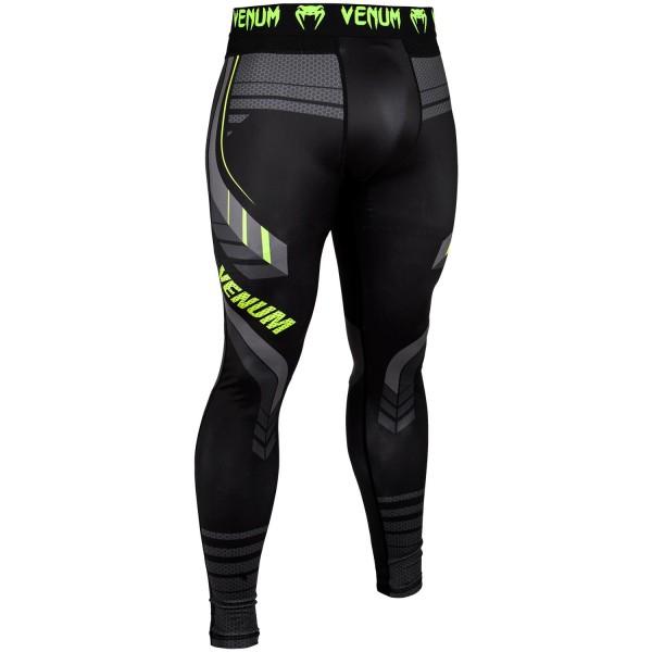 Купить Компрессионные штаны Venum Technical 2.0 Black/Yellow (арт. 23989)