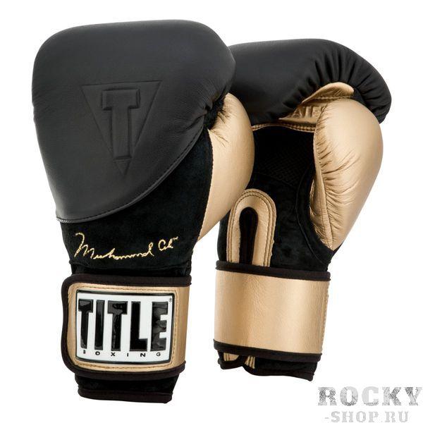 Купить Боксерские перчатки Title Ali Legacy Gold TITLE 16 oz (арт. 24096)