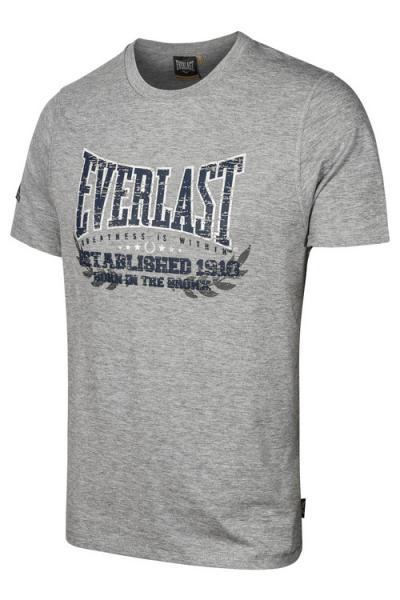Футболка Everlast Bronx NYC grey EverlastФутболки<br>Классическая футболка Everlast Bronx NYC:Выполнена из мягкого трикотажа;Модель прямого кроя;Круглый вырез горловины;Короткие рукава;Контрастный логотип бренда.<br><br>Размер INT: XL