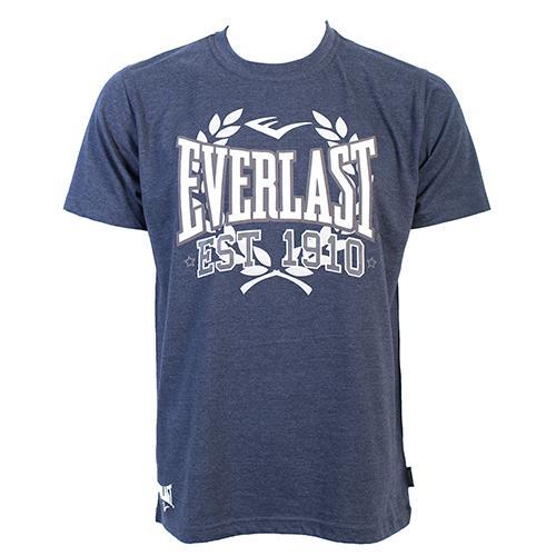 Футболка Everlast Sports Marl 1910 Navy EverlastФутболки<br>Футболка Everlast Sports Marl 1910 выполнена из хлопка с добавлением полиэстера. Круглый вырез горловины, короткие рукава, контрастный логотип бренда. Подойдет как для тренировочного процесса, так и для повседневной носки. Состав: Хлопок - 90%, Полиэстер - 10%<br><br>Размер INT: l