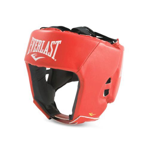 Боксерский шлем Everlast Amateur Competition PU Red Everlast