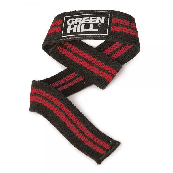 Лямки для тяги GREEN HILL красные Green Hill фото