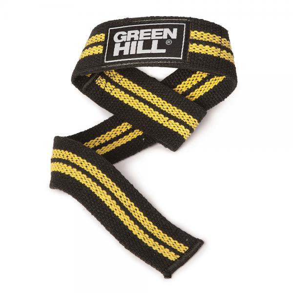 Купить Лямки для тяги GREEN HILL желтые Green Hill (арт. 24252)