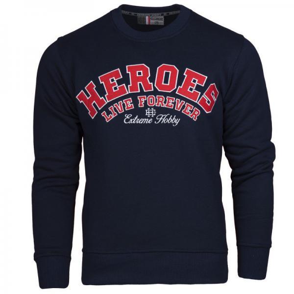 Купить Классическая толстовка heroes (синий) Extreme Hobby (арт. 24397)