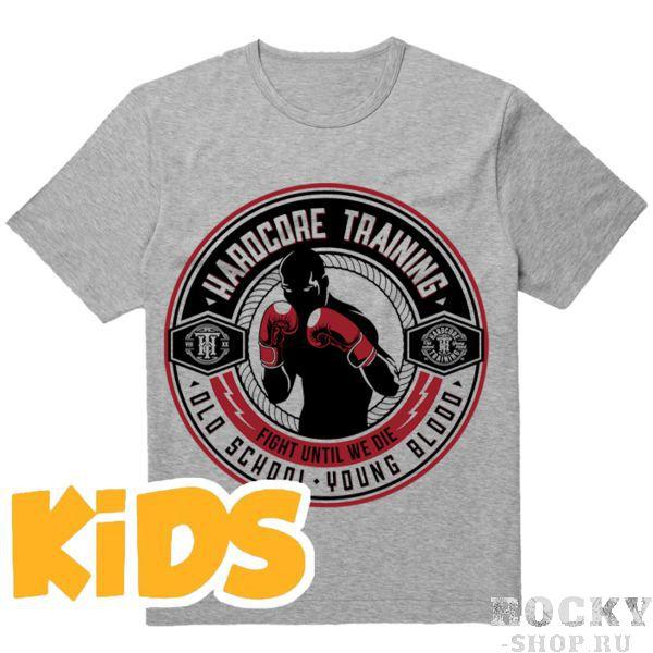 Детская футболка Hardcore Training Round Hardcore TrainingФутболки<br>Детская футболка Hardcore Training Round. Уход: машинная стирка в холодной воде, деликатный отжим, не отбеливать. Состав: хлопок. Футболка изготовлена в Европе (EU).<br><br>Размер INT: 10 лет